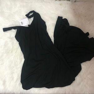 Topshop Black maxi dress